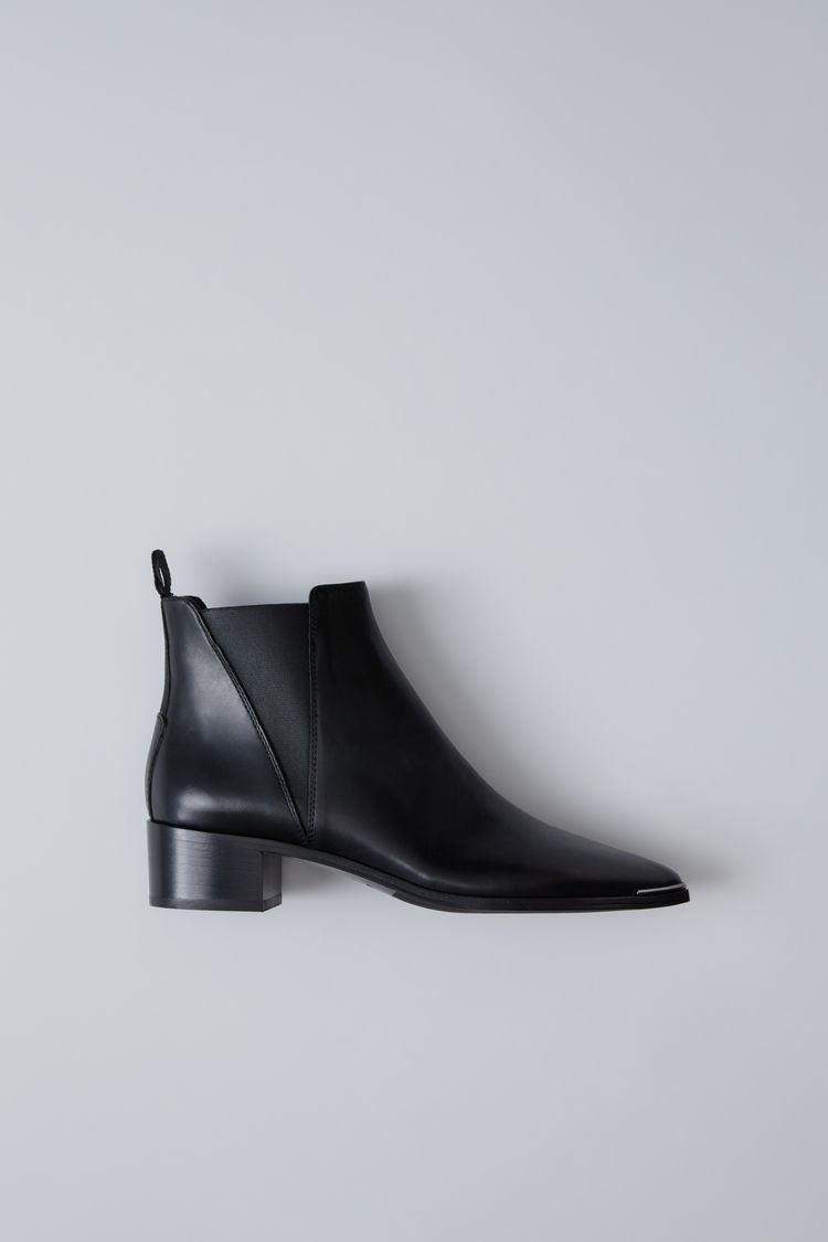 Bottines noires Acne studios