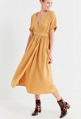 Robe midi urban outfitters